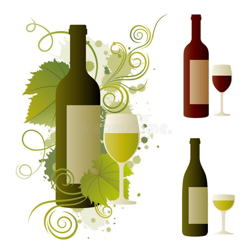 wijn royalty-vrije illustratie
