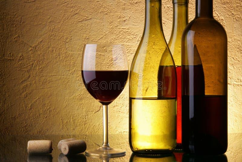Wijn-test royalty-vrije stock foto's