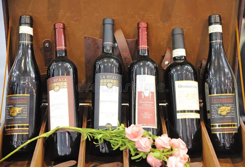 Wijnen royalty-vrije stock fotografie