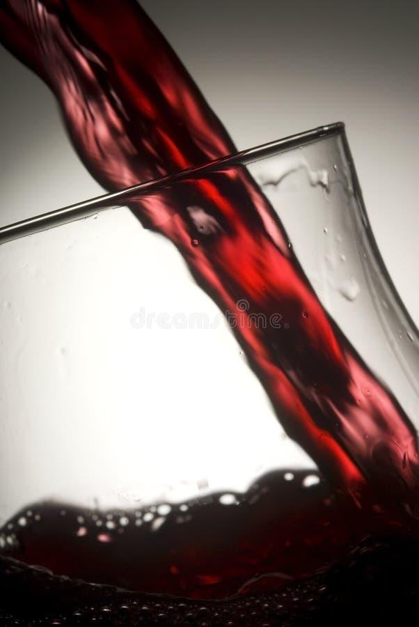 Wijnglas 07 royalty-vrije stock fotografie