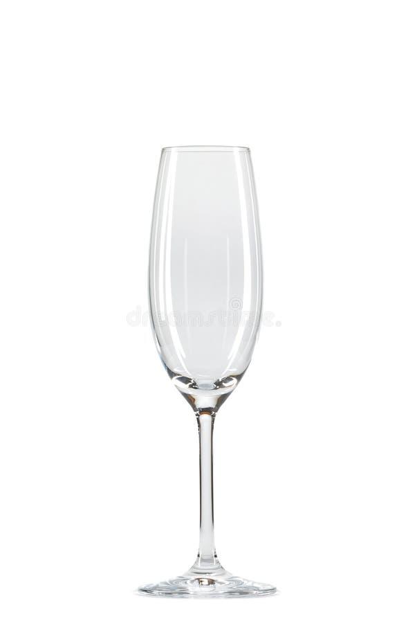 Wijnglas over wit royalty-vrije stock afbeeldingen
