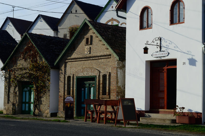 Wijnkelders royalty-vrije stock foto