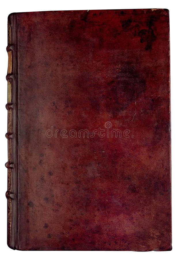 Wijnoogst bookcover royalty-vrije stock fotografie