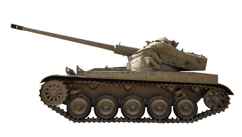 Wijnoogst de geïsoleerde tank royalty-vrije stock foto