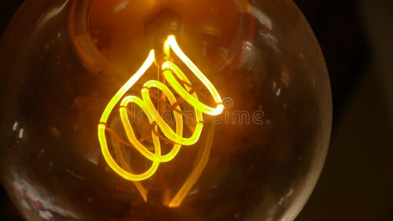 Wijnoogst lightbulb royalty-vrije stock fotografie