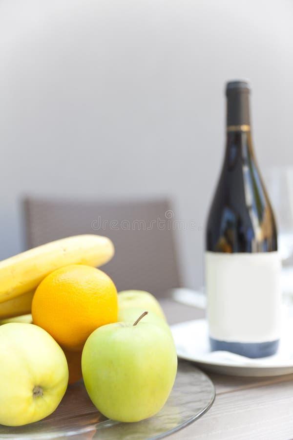 Wijnstok en fruit royalty-vrije stock foto