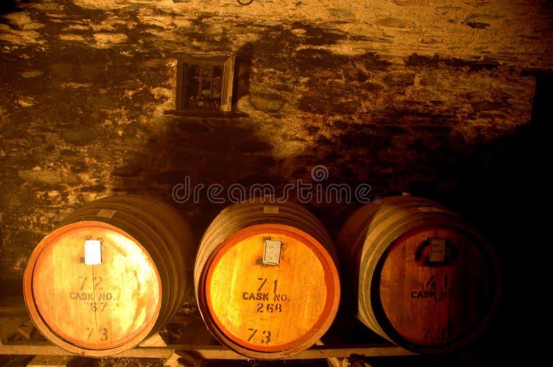 Wijnvatten royalty-vrije stock afbeeldingen