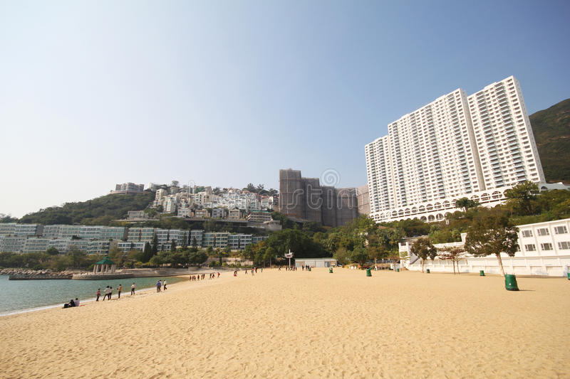 Wijs Baaistrand in Hong Kong af stock fotografie