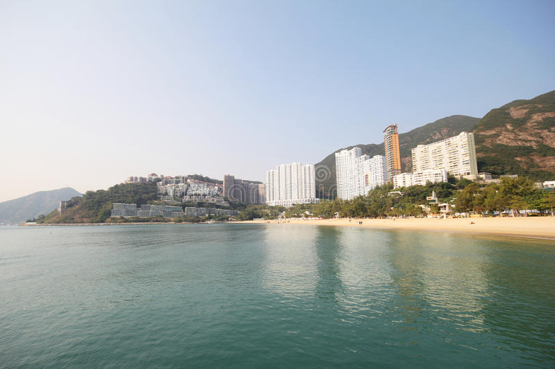 Wijs Baaistrand in Hong Kong af royalty-vrije stock fotografie