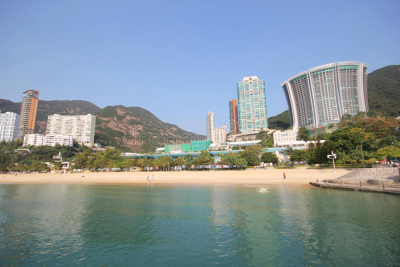Wijs Baaistrand in Hong Kong af royalty-vrije stock foto