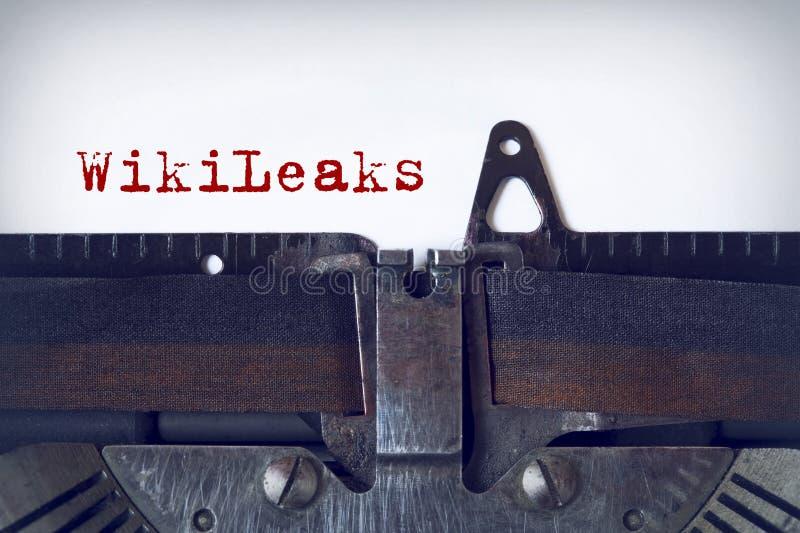 WikiLeaks στοκ φωτογραφία με δικαίωμα ελεύθερης χρήσης