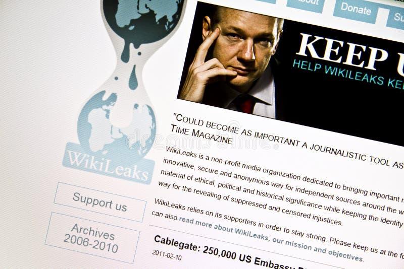 Download Wikileaks редакционное стоковое фото. изображение насчитывающей сеть - 18398653