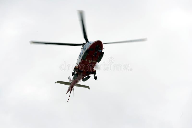 Wikingshelikopter stock foto's