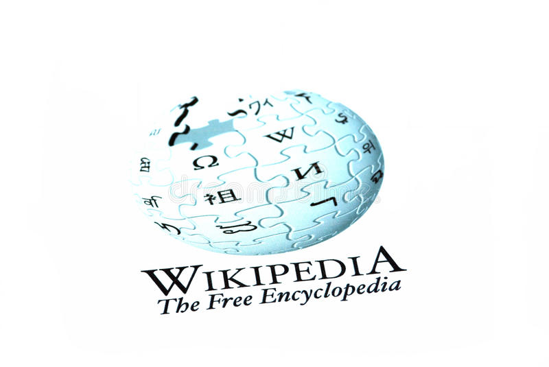Download Wikipedia logo editorial image. Image of communicate - 17835310