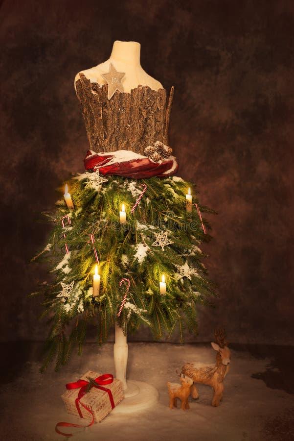 Wiktoriańscy Świąteczni boże narodzenia obraz stock