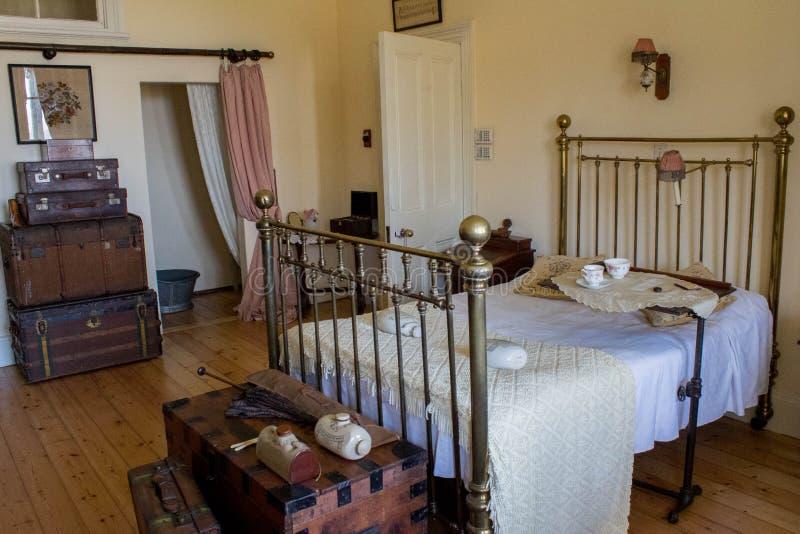 Wiktoriańska mistrzowska sypialnia obrazy stock