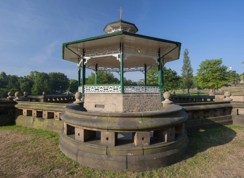Wiktoriański bandstand fotografia stock