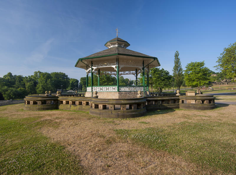 Wiktoriański bandstand obraz stock