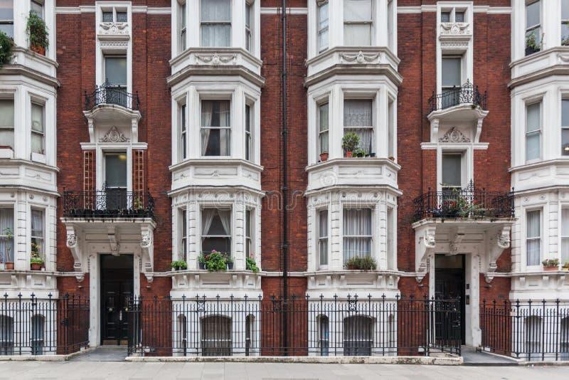 Wiktoriański budynek w Londyn obrazy royalty free
