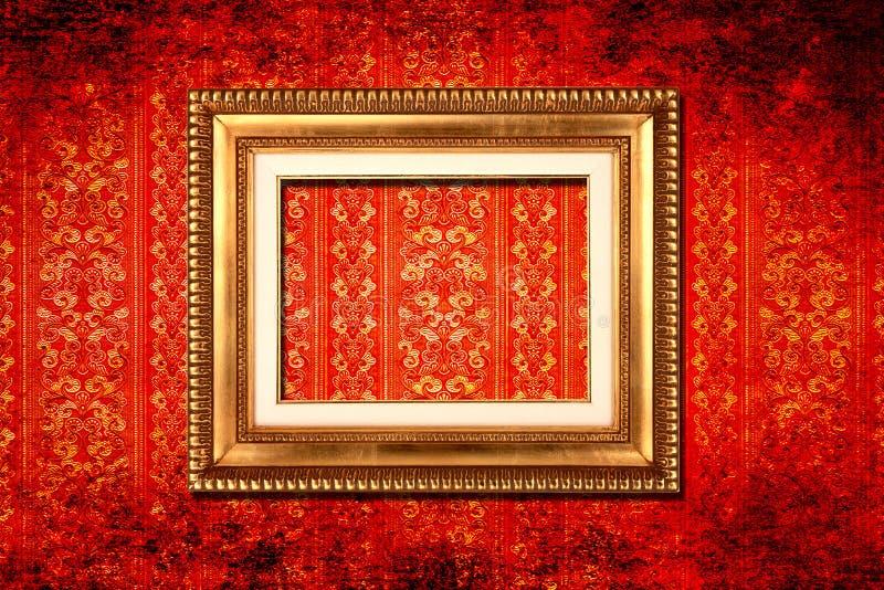 wiktoriański ramowa tapeta obraz royalty free