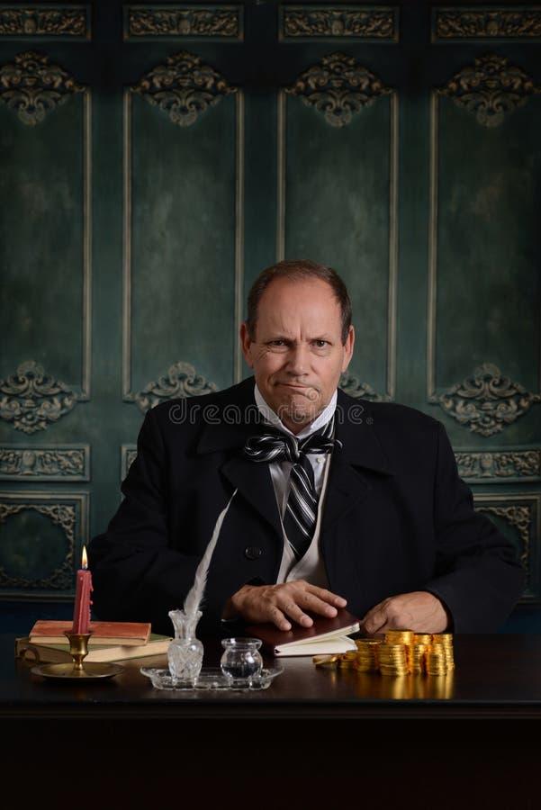 Wiktoriański szef szalenie z niskim zyskiem zdjęcia royalty free
