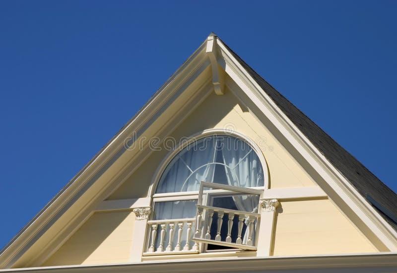 wiktoriańskie dach zdjęcie stock