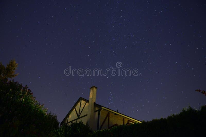 Wiktoria gwiazdy niebo zdjęcie royalty free