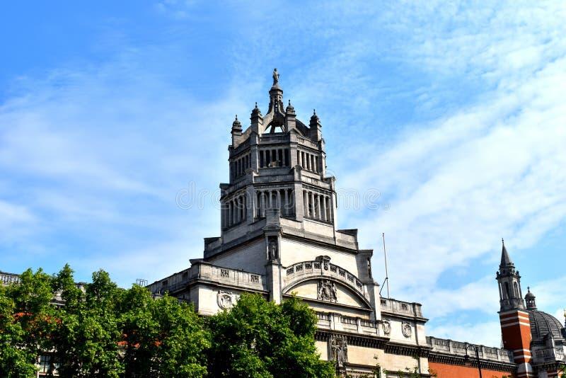 Wiktoria i Albert muzeum, Londyn zdjęcia stock