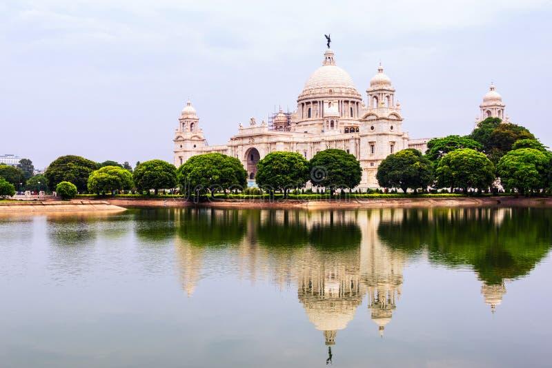 Wiktoria Memorial Hall w Calcutta, India obraz stock