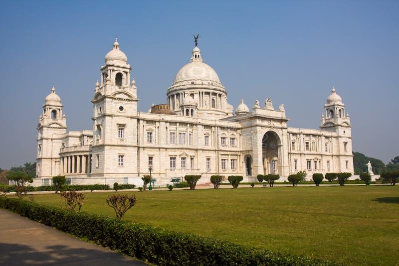 Wiktoria pomnik, Calcutta zdjęcia royalty free
