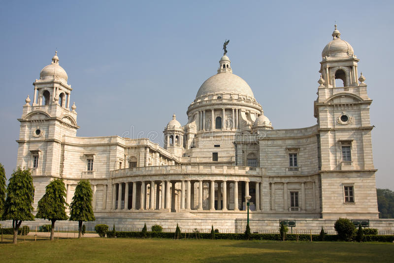 Wiktoria pomnik India - Kolkata - (Calcutta) zdjęcie royalty free