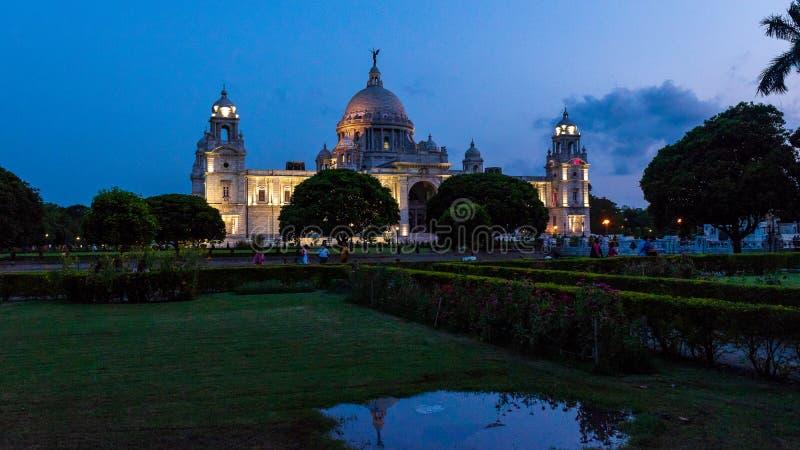 Wiktoria pomnik Kolkata obraz royalty free