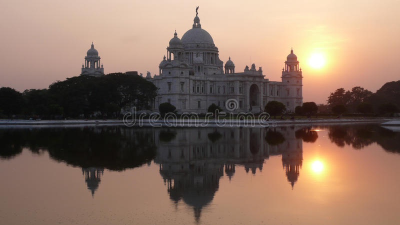 Wiktoria pomnik. Kolkata. India obrazy royalty free