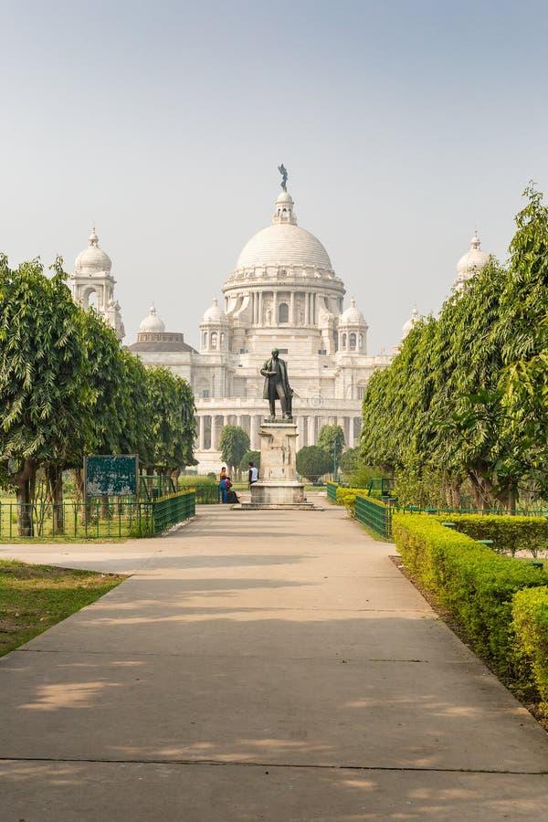 Wiktoria pomnik, Kolkata, Zachodni Bengal, India obrazy royalty free