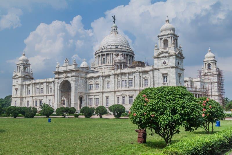 Wiktoria pomnik w Kolkata Calcutta, Ind fotografia royalty free