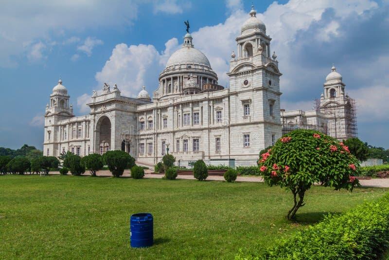 Wiktoria pomnik w Kolkata Calcutta, Ind obraz royalty free