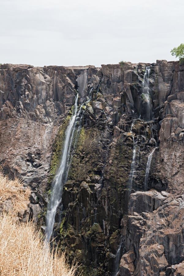 Wiktoria Spada w zambiach, Zimbabwe przy końcówką pora sucha obrazy royalty free
