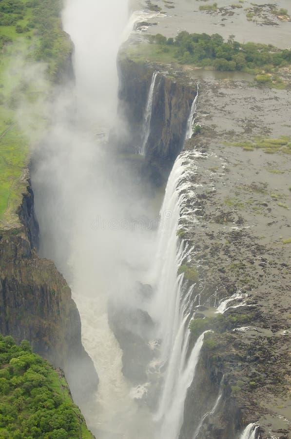 Wiktoria spadki - zambiowie/Zimbabwe zdjęcie royalty free