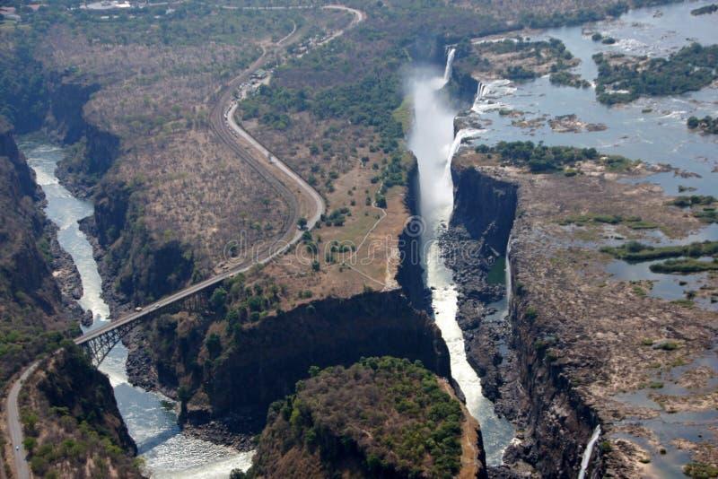Wiktoria spadki, Zimbabwe zdjęcia royalty free