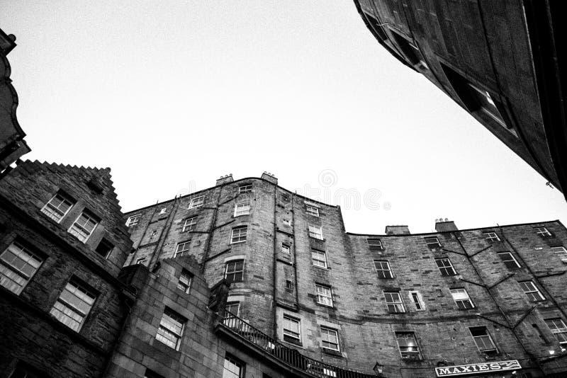 Wiktoria St, Edynburg zdjęcia royalty free