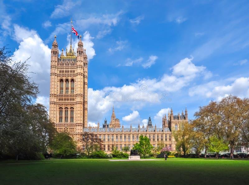 Wiktoria wierza Westminister pałac, Londyn, UK zdjęcie royalty free