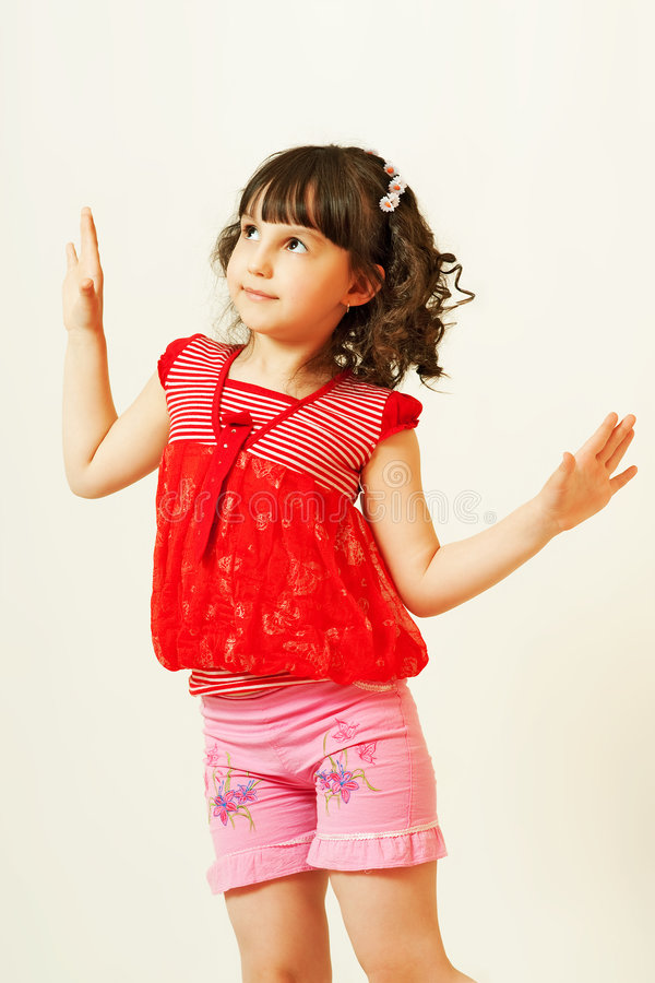 Wil dansen. stock fotografie