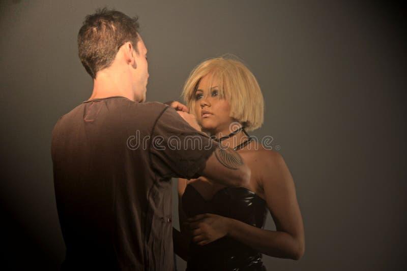Wil de nieuwe de muziekvideo van DeLuna van Kat u zien dansen royalty-vrije stock foto