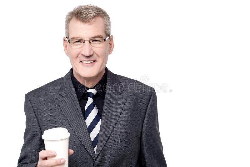 Wil wat koffie hebben? stock afbeelding