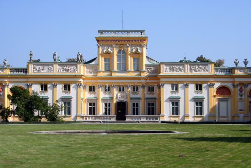 wilanow 3 дворцов стоковое фото