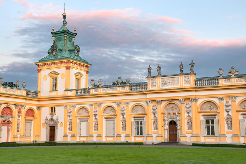 Wilanow Palace In Warsaw Royalty Free Stock Photography