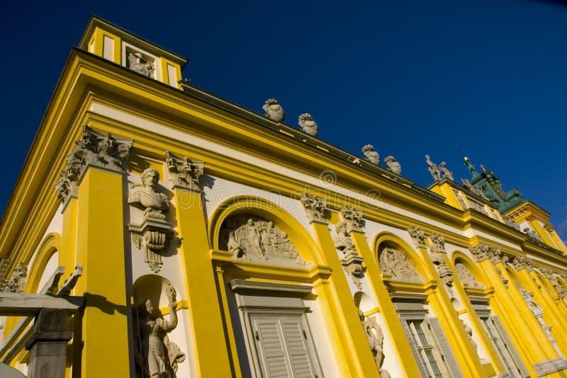 Wilanow Palace in Warsaw, Poland - detail