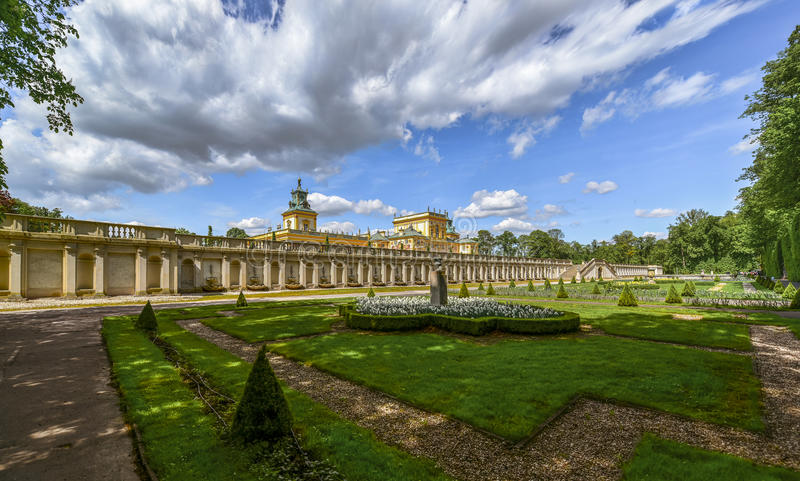 Download Wilanow Palace In Warsaw, Poland Stock Photo - Image of park, seat: 70574584