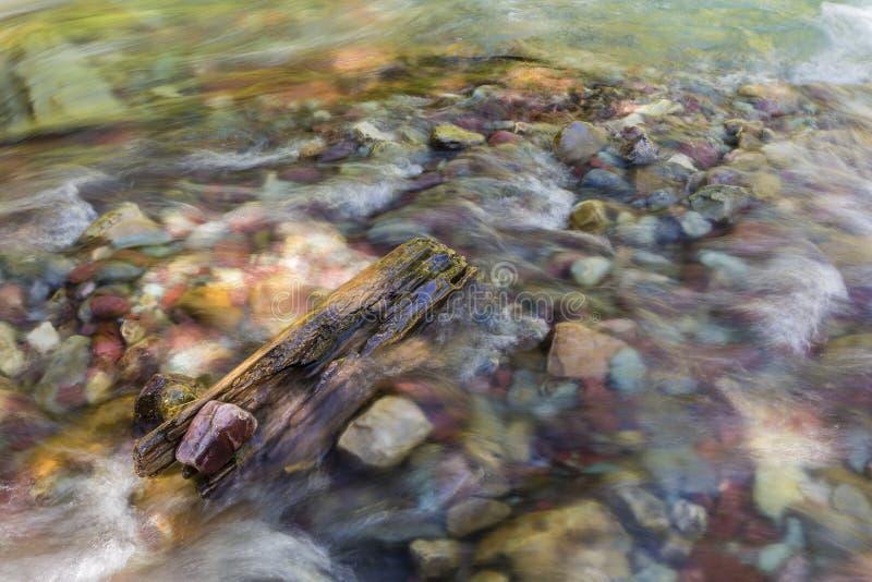 Wilbur Creek River Rocks royaltyfri bild
