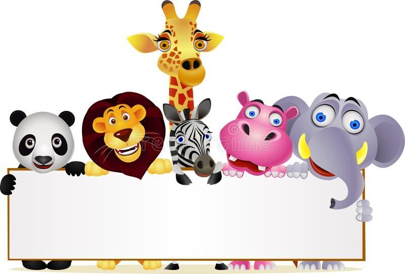 Wild Animal Cartoon Royalty Free Stock Image